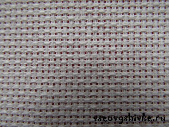Равномерная канва для вышивки крестом