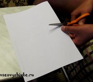 оформление вышивки своими руками
