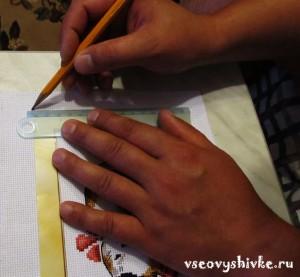 как оформить вышивку в рамку