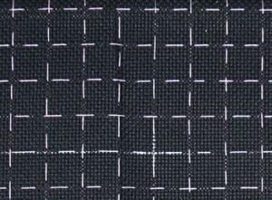 Как вышивать на черной канве