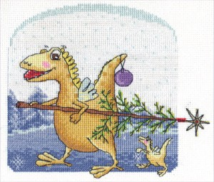 вышивка год дракона 2012