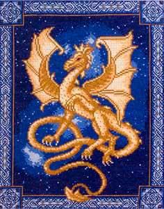 Схема вышивки год дракона фото 840