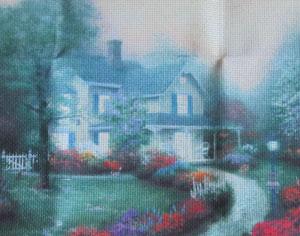 вышивка-крестиком-дом