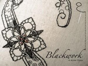 техника вышивки блекворк