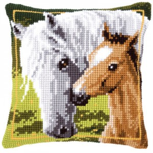 символ года лошадь вышивка