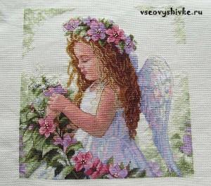 цветочный-ангел-вышивка-готова