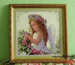 цветочный-ангел-вышивка-оформление