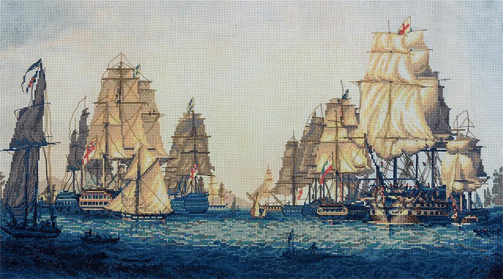 Вышивка крестом бесплатные схемы корабли скачать бесплатно
