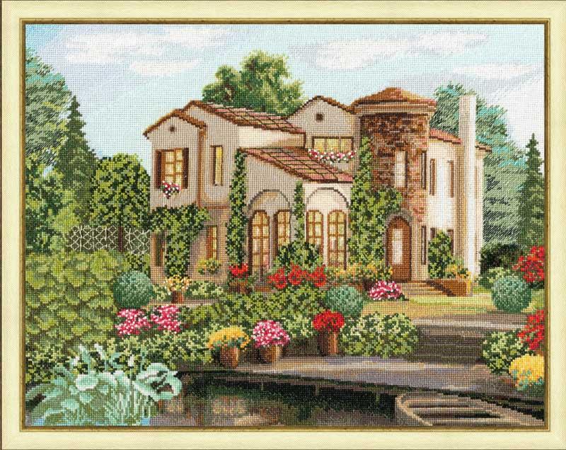 Вышивка для загородного дома