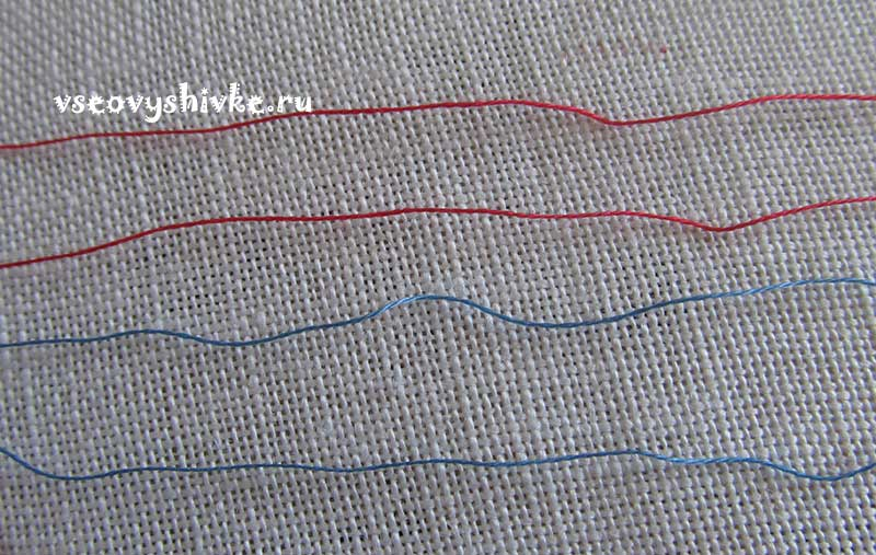 как вышивать бленды
