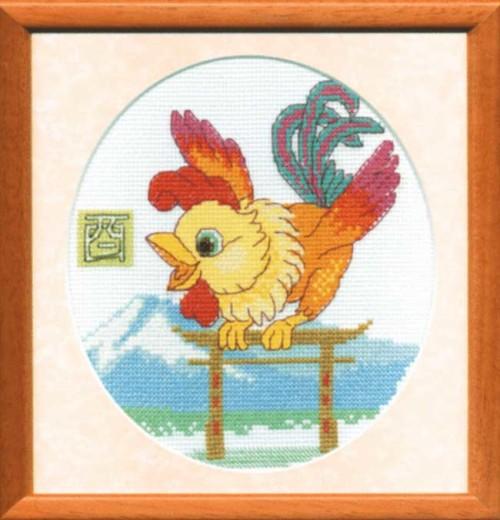 Год Петуха в вышивке Чарiвна Мiть
