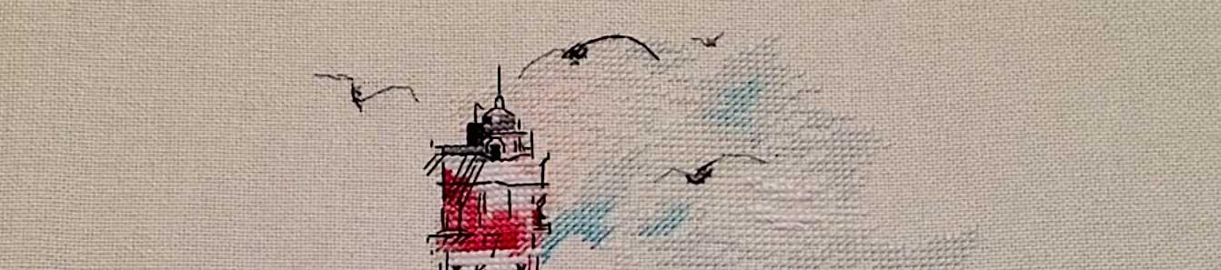 вышивка маяк приметы