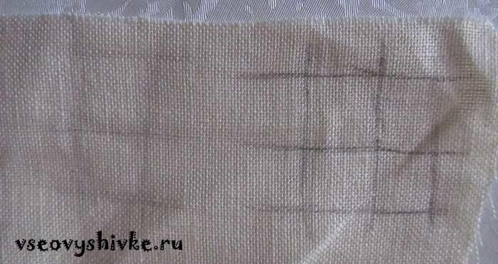 Как отстирать разметку на вышивке